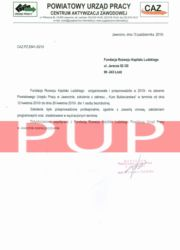 Referencje kurs florystyczny - PUP Jaworzno