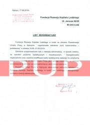 Referencje kurs florystyczny - PUP Kętrzyn