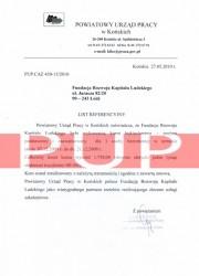 Referencje kurs florystyczny - PUP Końskie
