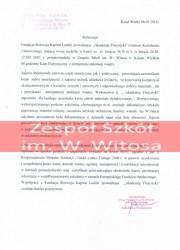 Referencje kurs florystyczny - Zespół Szkół w Książu Wielkim