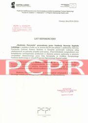 Referencje kurs florystyczny -PCPR cieszyn