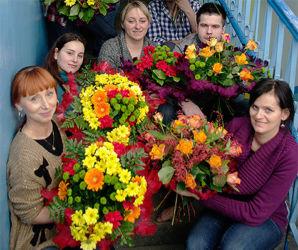 Kursy florystyczne w Warszawie - uczestnicy