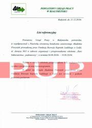 Referencje kurs florystyczny - PUP Białystok