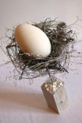 wielkanocna ozdoba z jajkiem