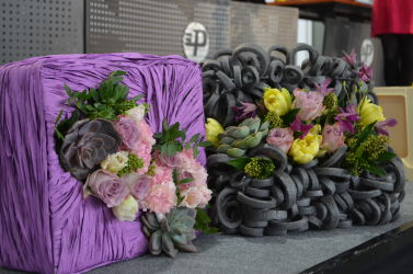 targi florystyczne dekoracyjne pudełka kwiatowe