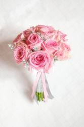 bukiecik-z-rózowych-rózy-kraków