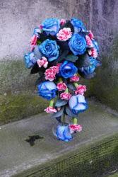 wiązanka-z-niebieskich-róż-ślubna-kraków