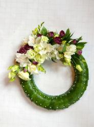 wieniec-zielono-biały-dekoracyjny-kraków